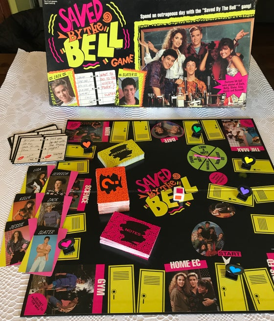 Image of Saved by the Bell Game!