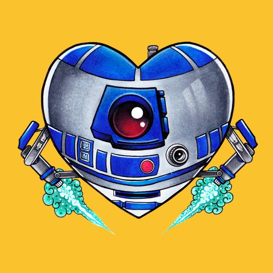 """Image of """"Heart2-D2"""""""