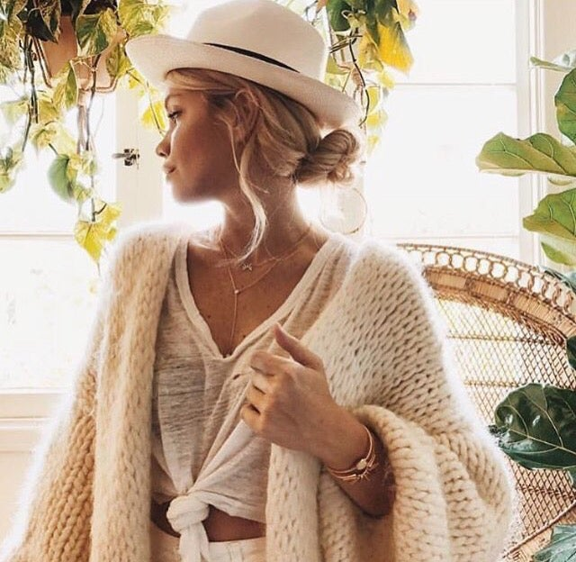 Image of HAND KNIT CARDIGAN