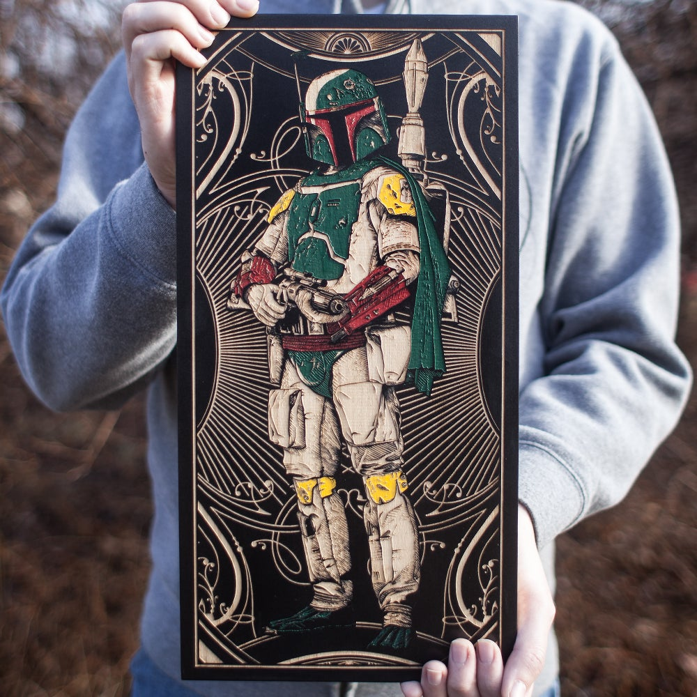 Image of Boba Fett 5-Color Maple Variant