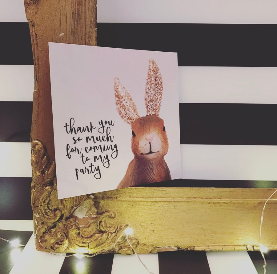 Image of THANK YOU HARE