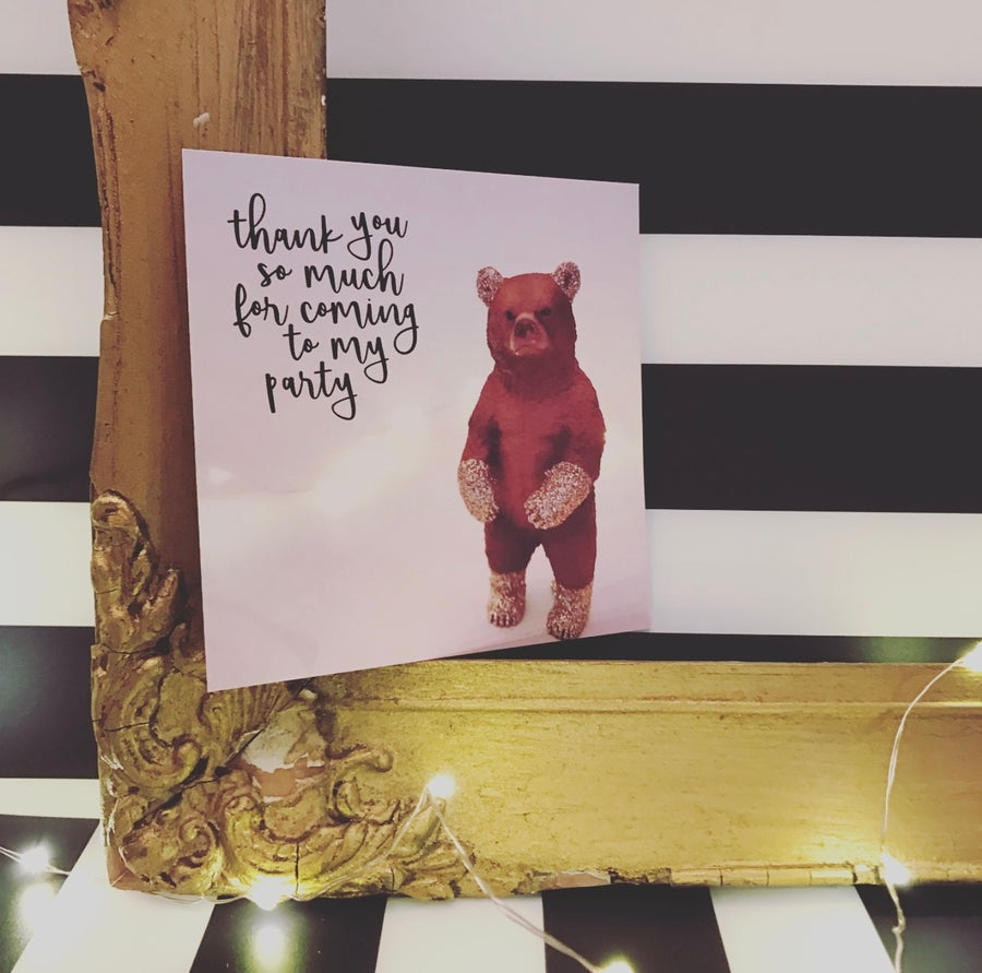 Image of THANK YOU BEAR