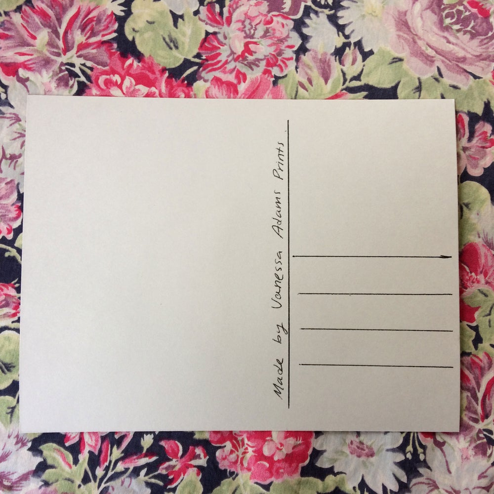 Image of Screenprinted Slug! Postcard