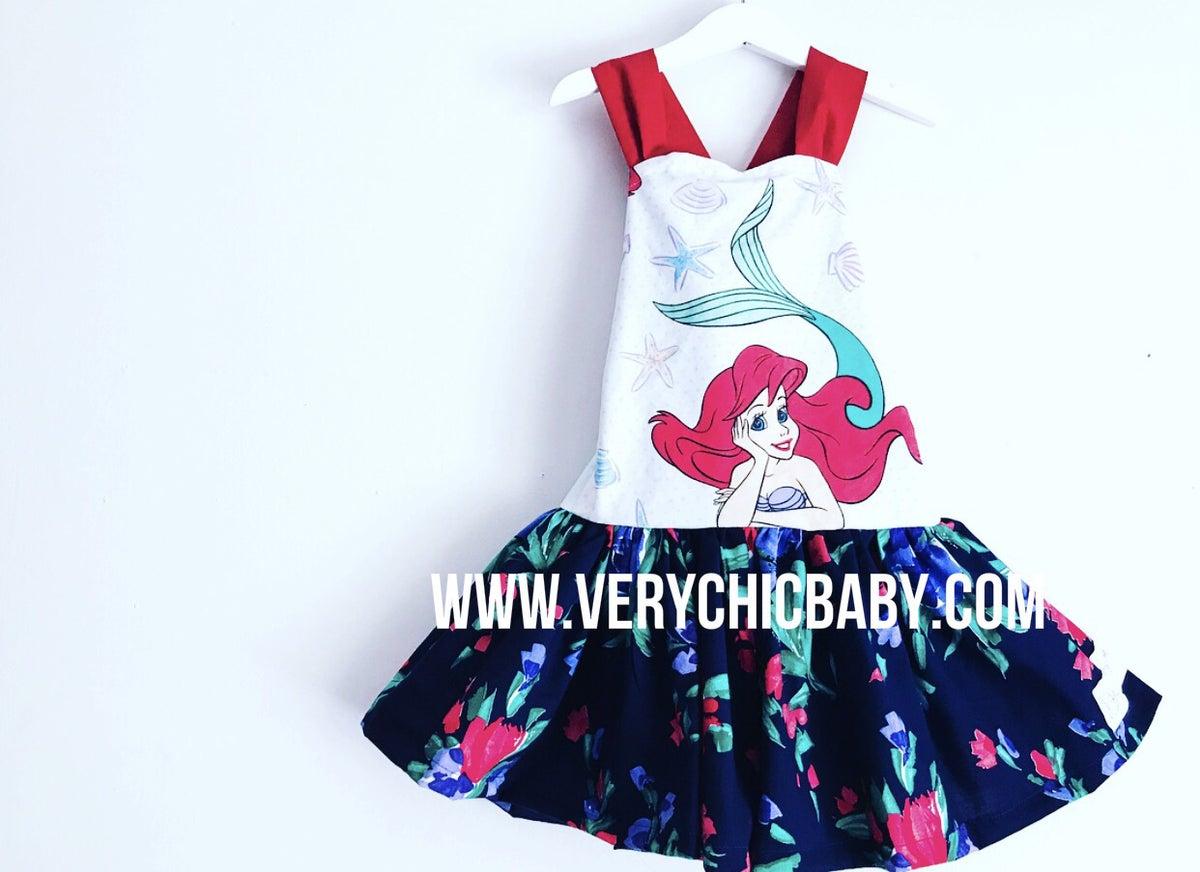 Image of Ariel Dropwaist Dress