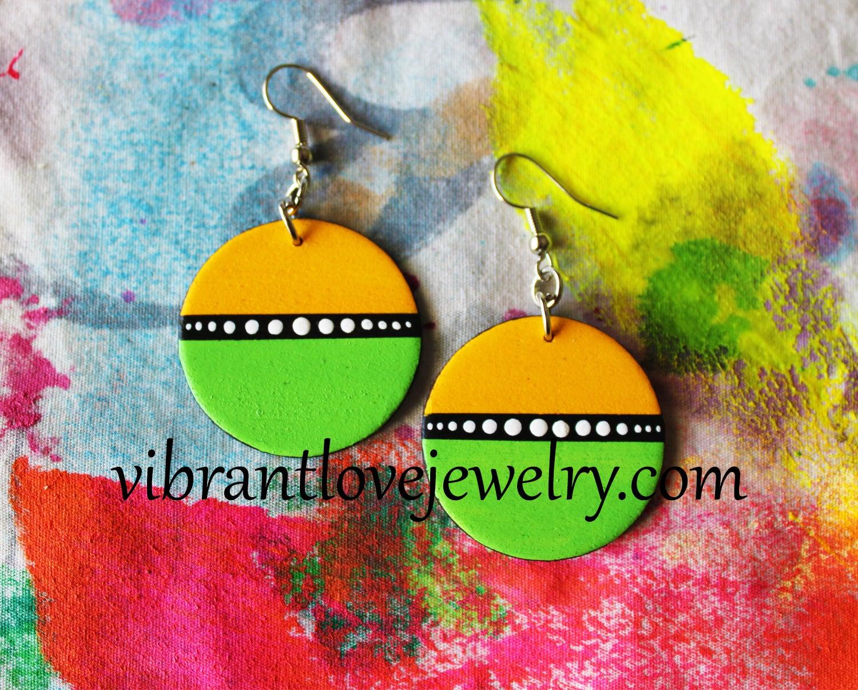 Image of Lemon Lime Earrings!