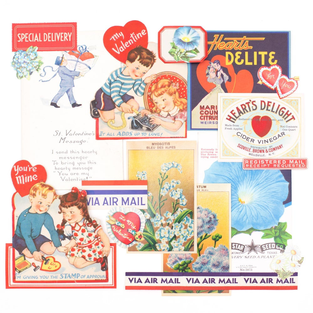 Image of Valentine's Day Ephemera - Special Delivery