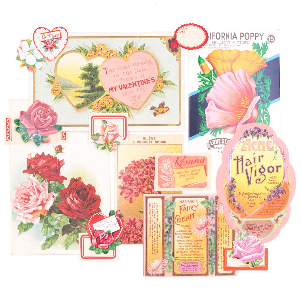 Image of Valentine's Day Ephemera - Pretty in Pink