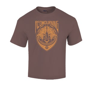 "Image of T-shirt ""Brown Mourning"""