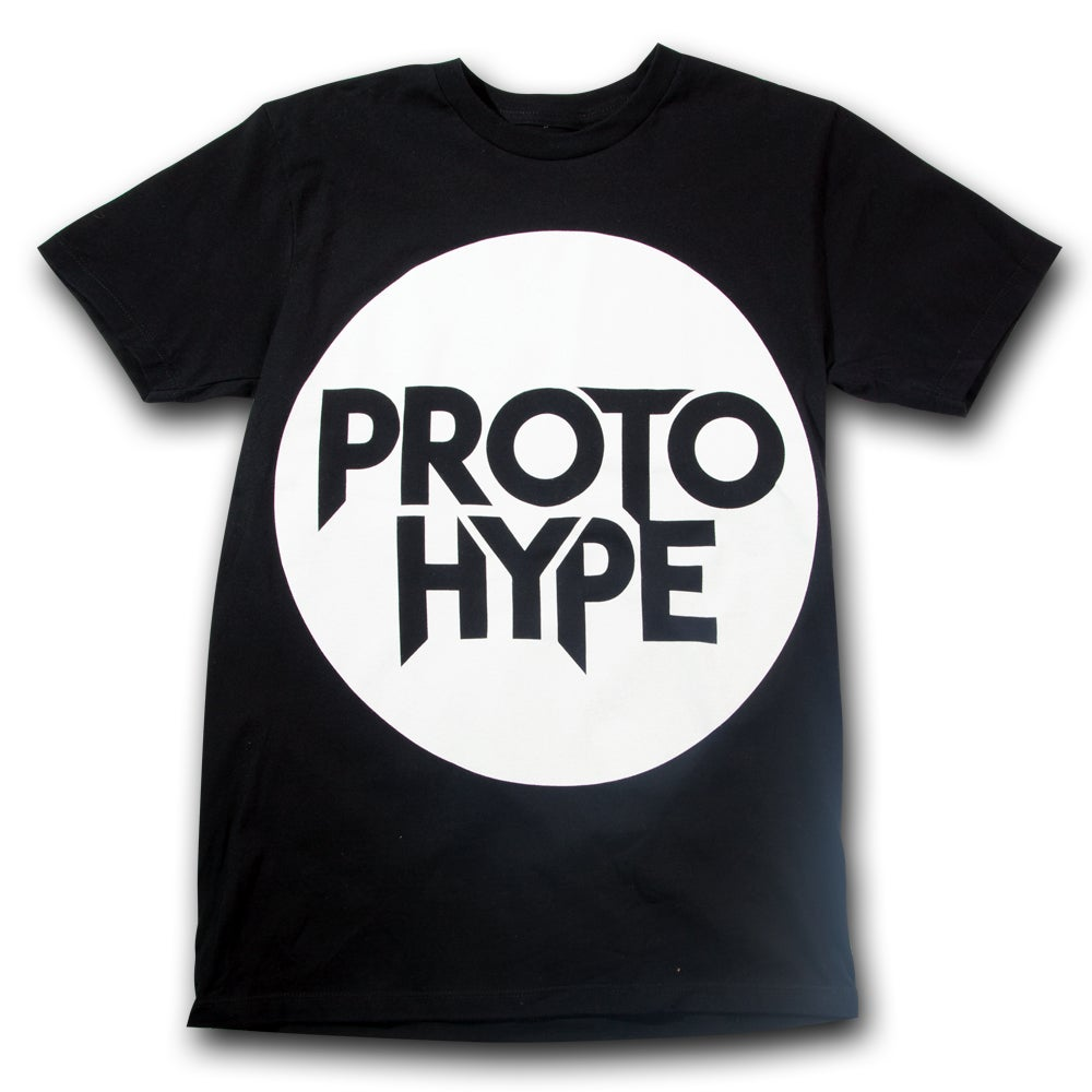 Image of Black Protohype Logo T-Shirt