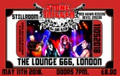 Image of Stone Trigger Live 11th May 2018 at The Lounge 666, London, UK
