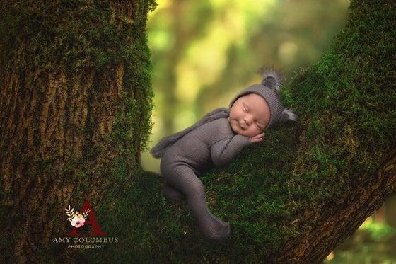 Image of Little Koala Bear  Jammy Onesie & Bonnet Set
