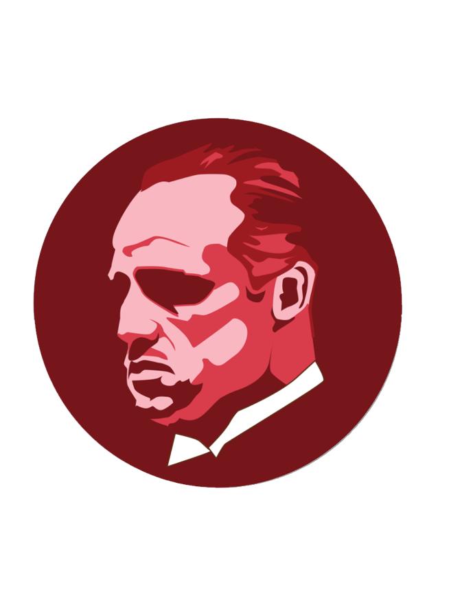 Image of Brando by Gummo (Button + Sticker)