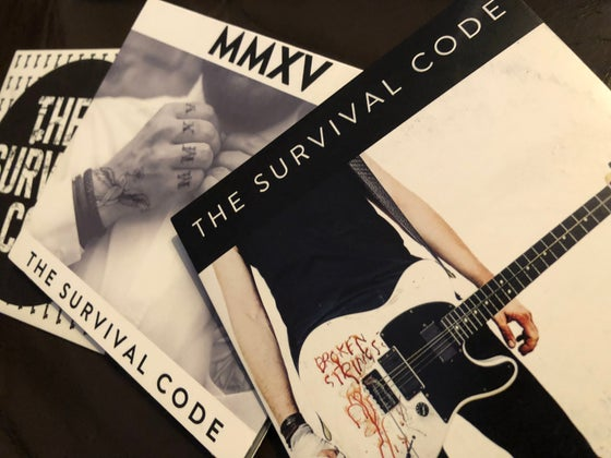 Image of Full Back Catalogue of THE SURVIVAL CODE releases Signed/unsigned