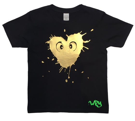 Image of Splat Heart T Shirt