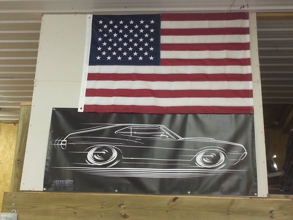Image of '72 - '73 Torino and Ranchero T-Shirts Banners