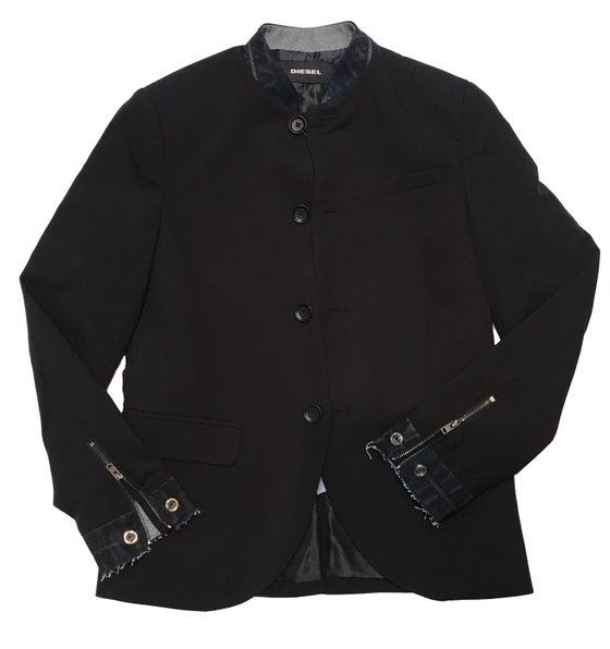 Image of Diesel Collarless Jacket