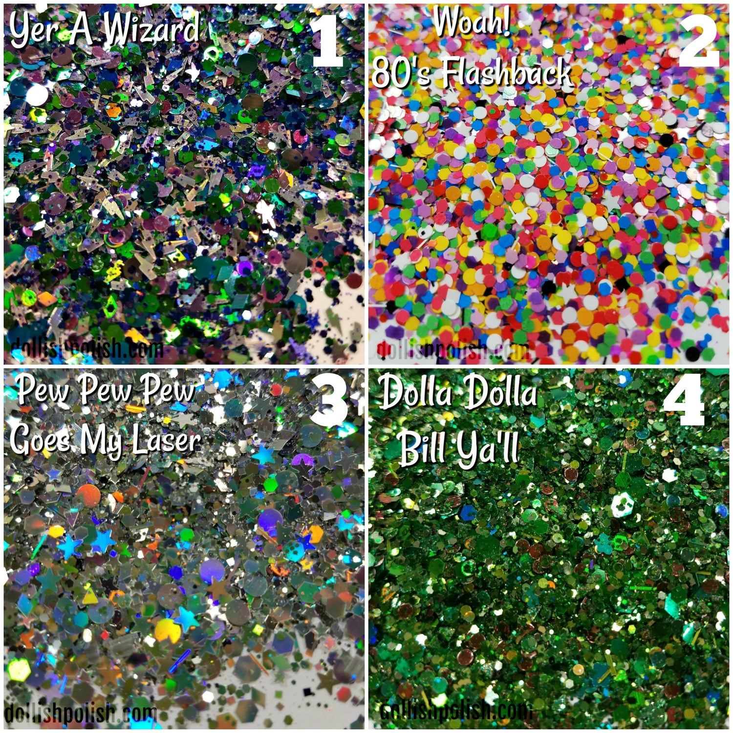 Image of NAIL ART Glitter Pots