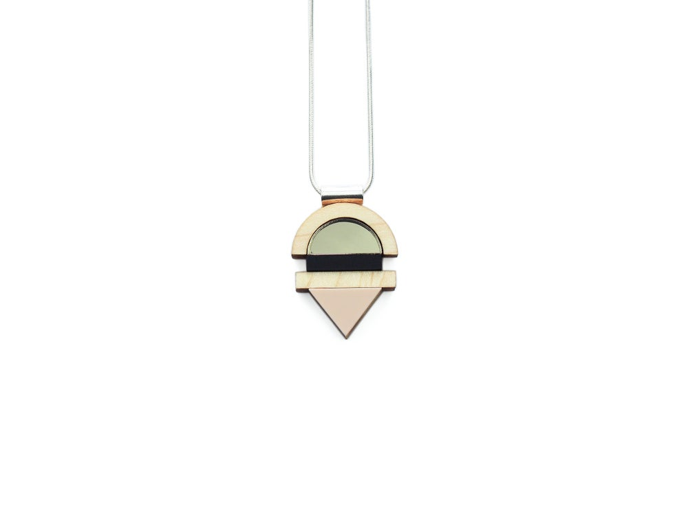 Image of EDIT NECKLACE - BRONZE