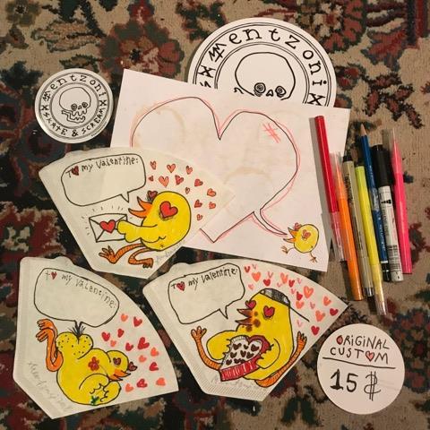 Image of Valentines Ken Card - Original Custom!!!