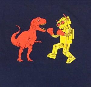 Image of Dinosaur Vs. Robot T-Shirt
