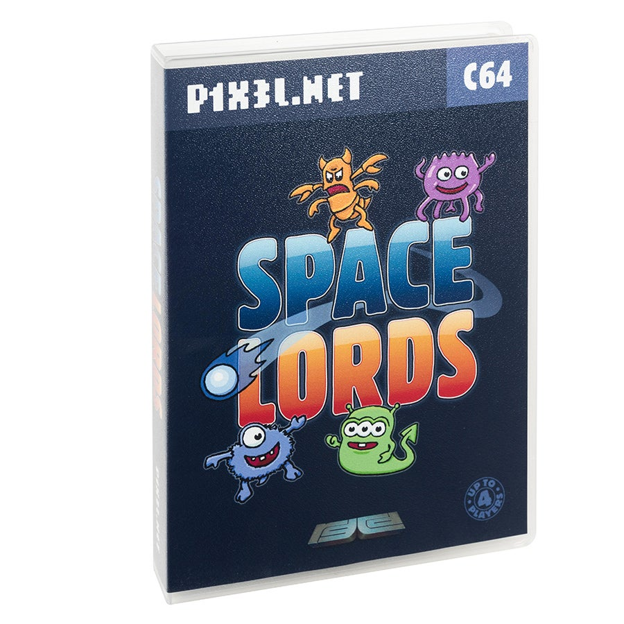 Image of Space Lords (Centaurus) (Commodore 64)