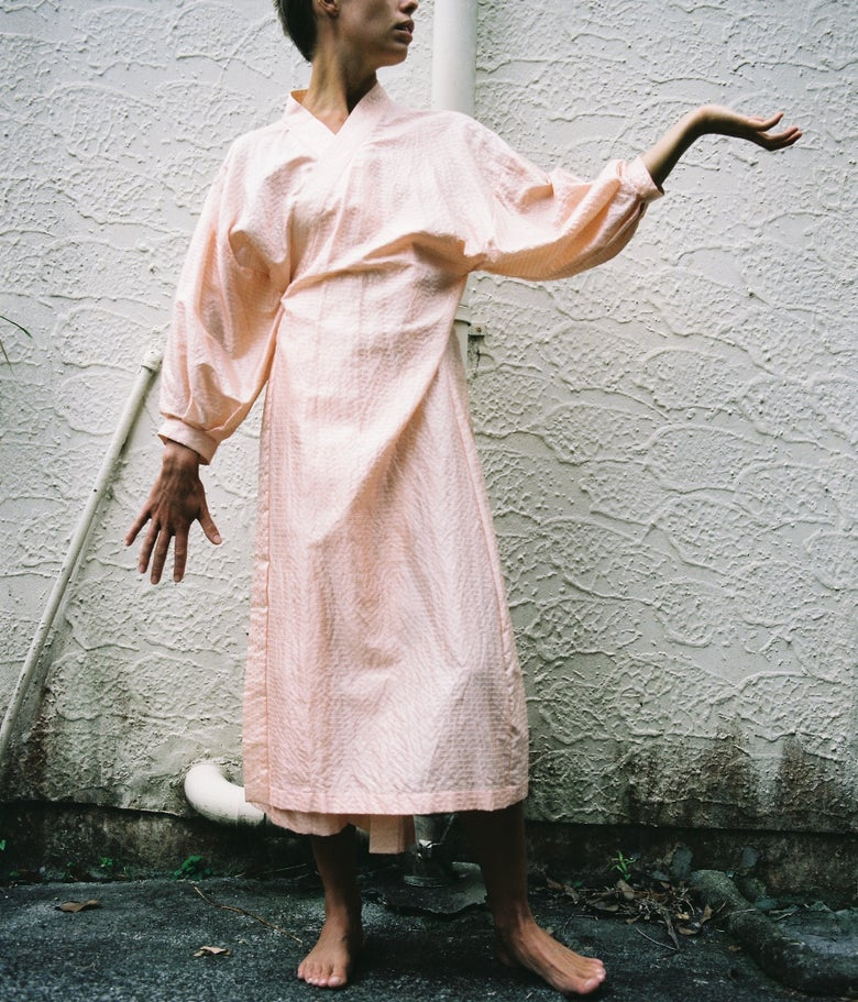Image of Handwoven Wrap Dress