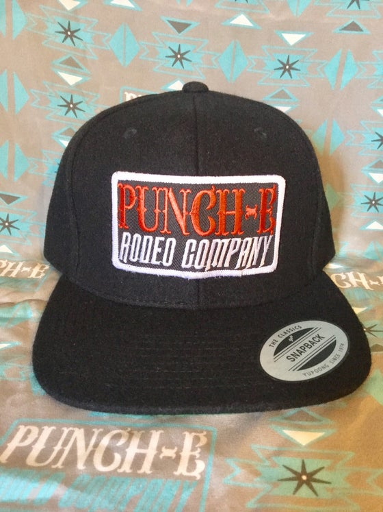 Image of Punch-E Patch (wooly) Black