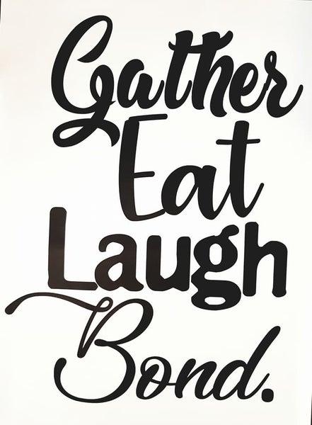 Image of Gather Eat Laugh Bond