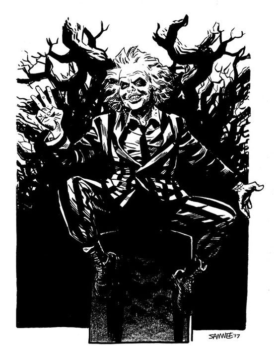 Image of Beetlejuice Sketch