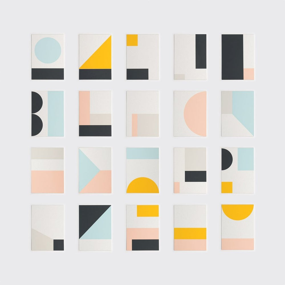 Image of Fragment 17 mini print by Tom Pigeon