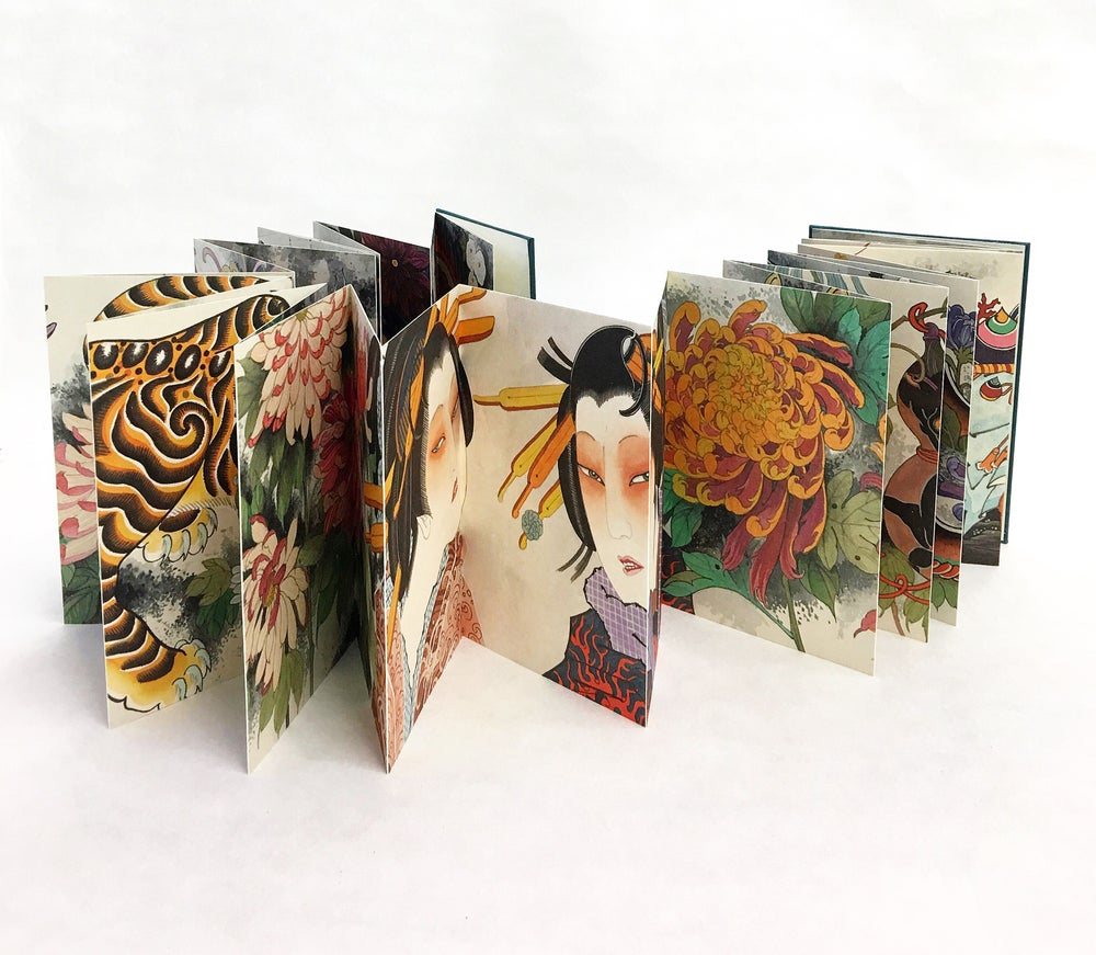 Image of Drawings of an autumn garden by Claudia De Sabe
