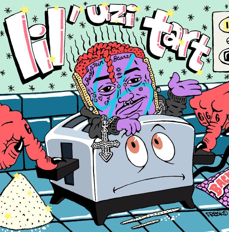 """Image of """"LIL' UZI TART"""" PRINT"""