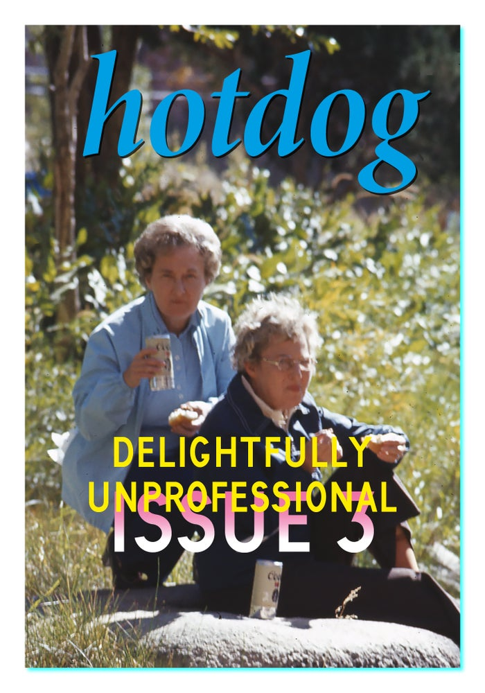 Image of hotdog issue 3 - delightfully unprofessional