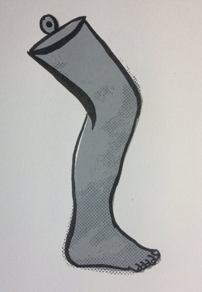 Image of Hannah Molyneux: Wishing you a healthy leg