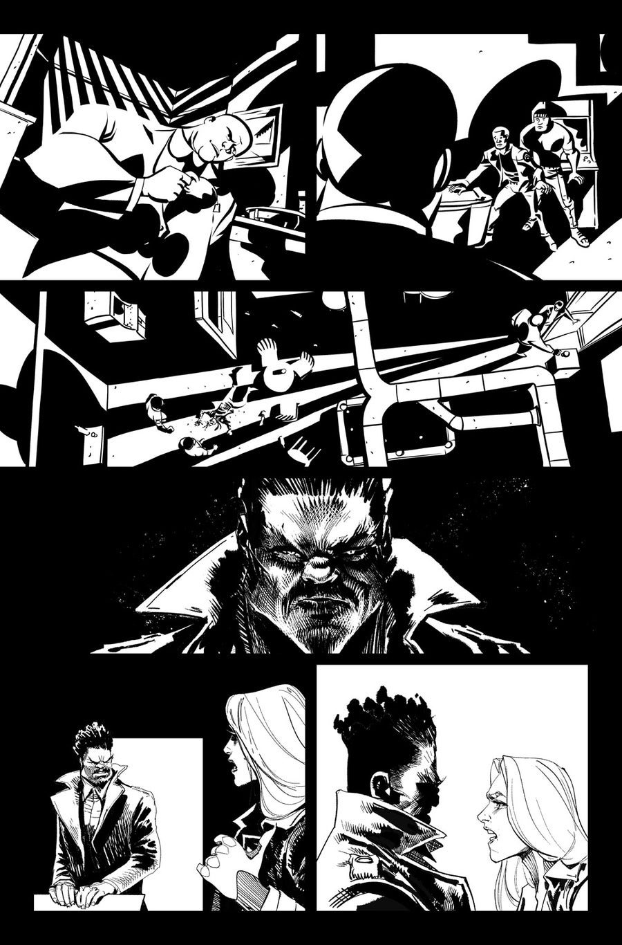 Image of DEFENDERS #8, p.08 ARTIST'S PROOF
