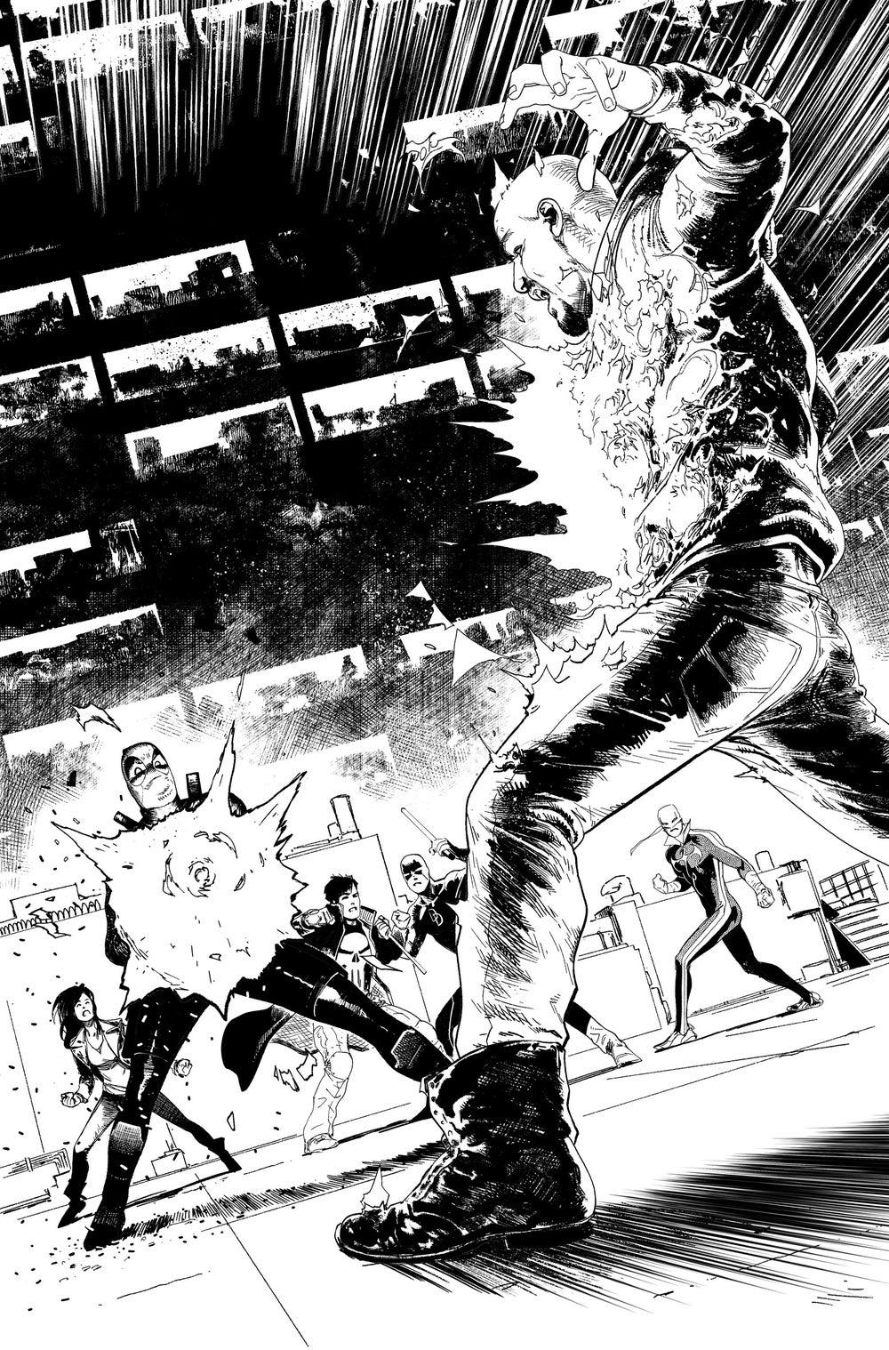 Image of DEFENDERS #8, p.13 ARTIST'S PROOF