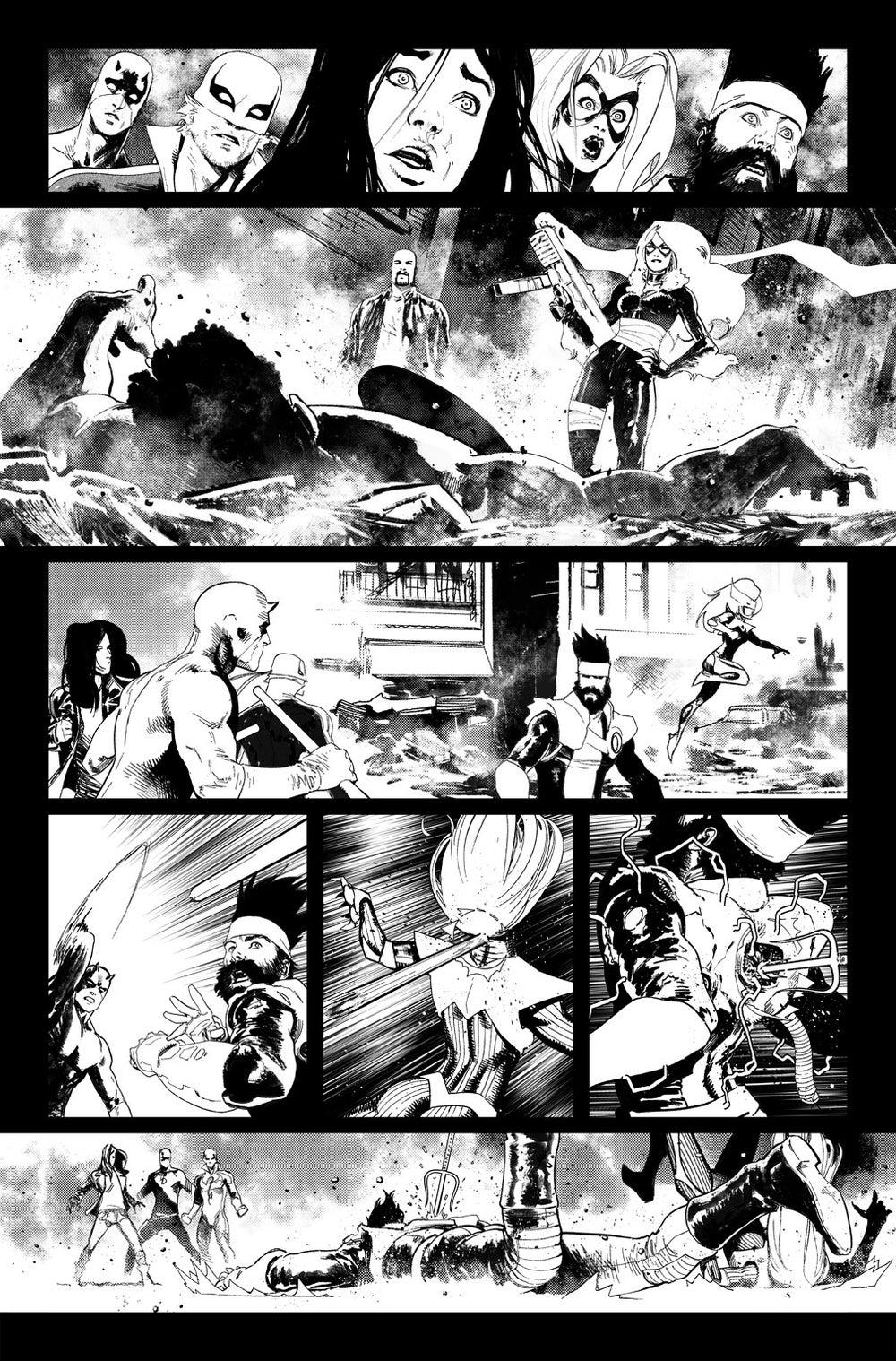 Image of DEFENDERS #9, p.19 ARTIST'S PROOF