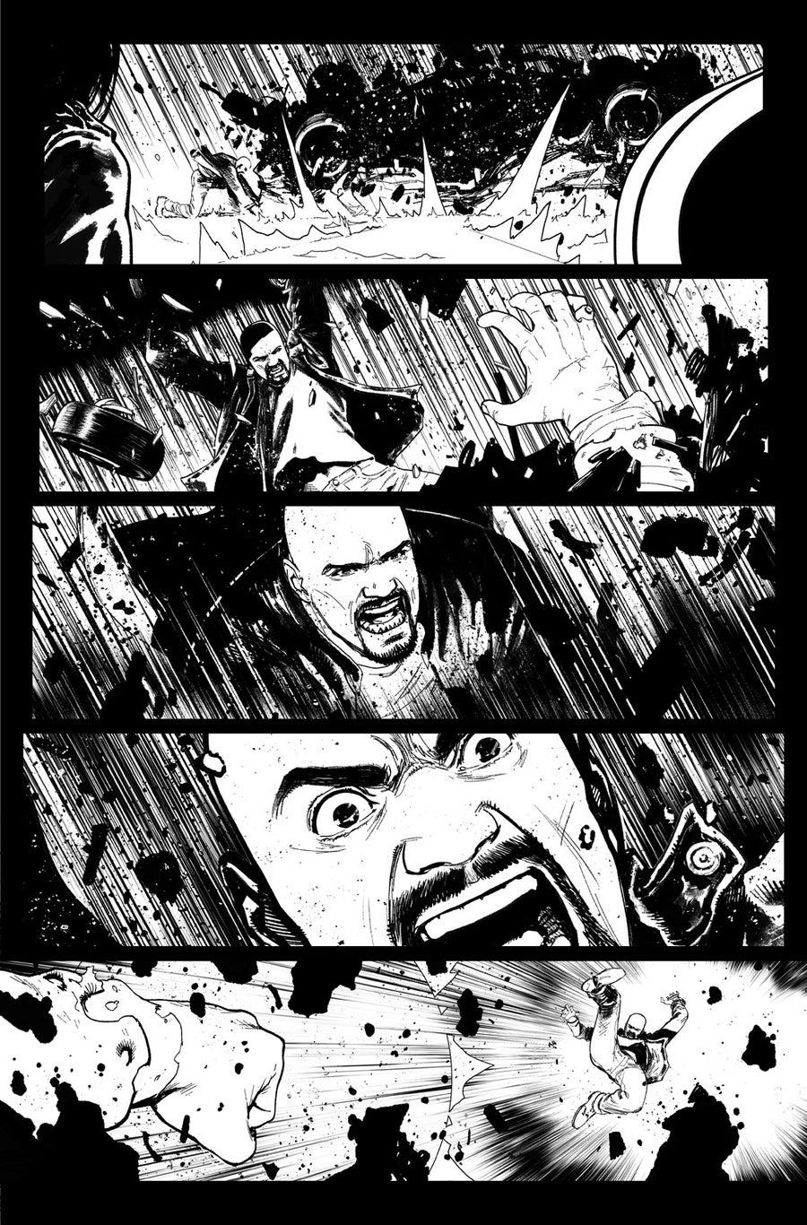 Image of DEFENDERS #9, p.15 ARTIST'S PROOF