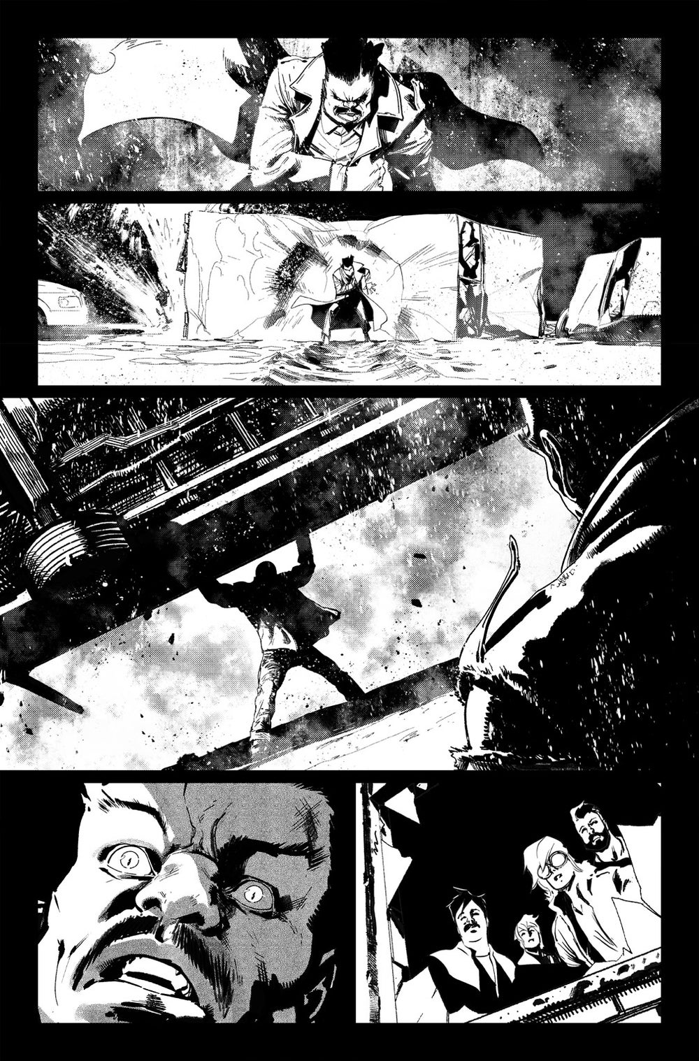 Image of DEFENDERS #9, p.13 ARTIST'S PROOF