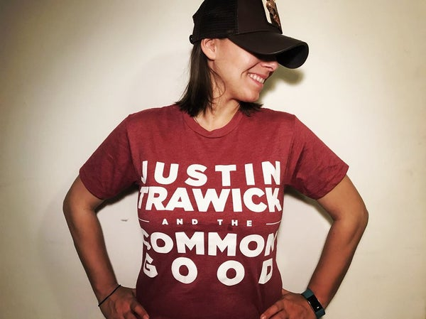 Image of Justin Trawick and The Common Good T-Shirt