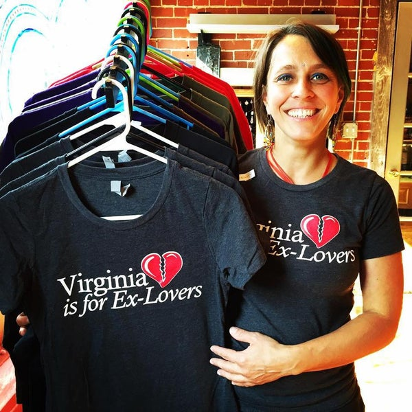 Image of Virginia is for Ex-Lovers Women's T-Shirt