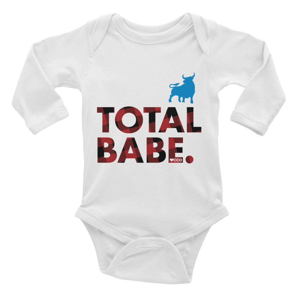 Image of Total Babe Long Sleeve Onesie