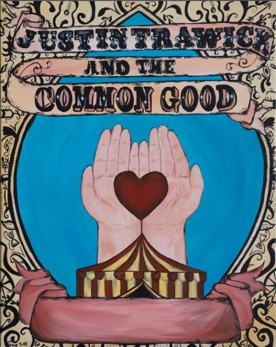 Image of Poster - Justin Trawick and The Common Good