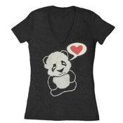 Image of Women's Panda VNeck
