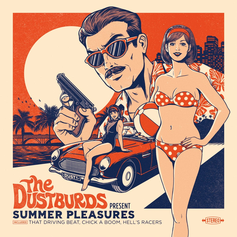 "Image of The Dustburds ""Summer Pleasures"" (Lp + Dlc) Preorder"