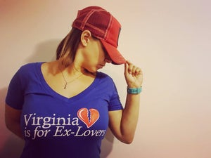 Image of Virginia is for Ex-Lovers V-Neck
