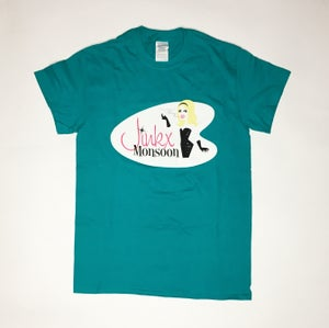 Image of Jinkx Turquoise T-Shirt
