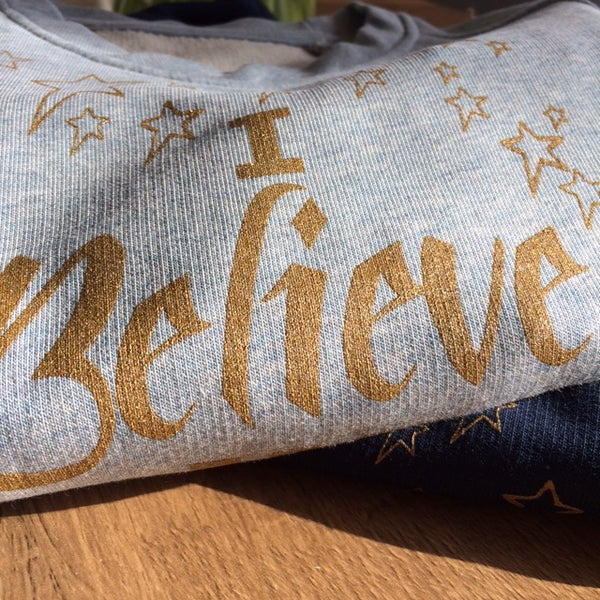 Image of I BELIEVE IN ME - ICE BLUE
