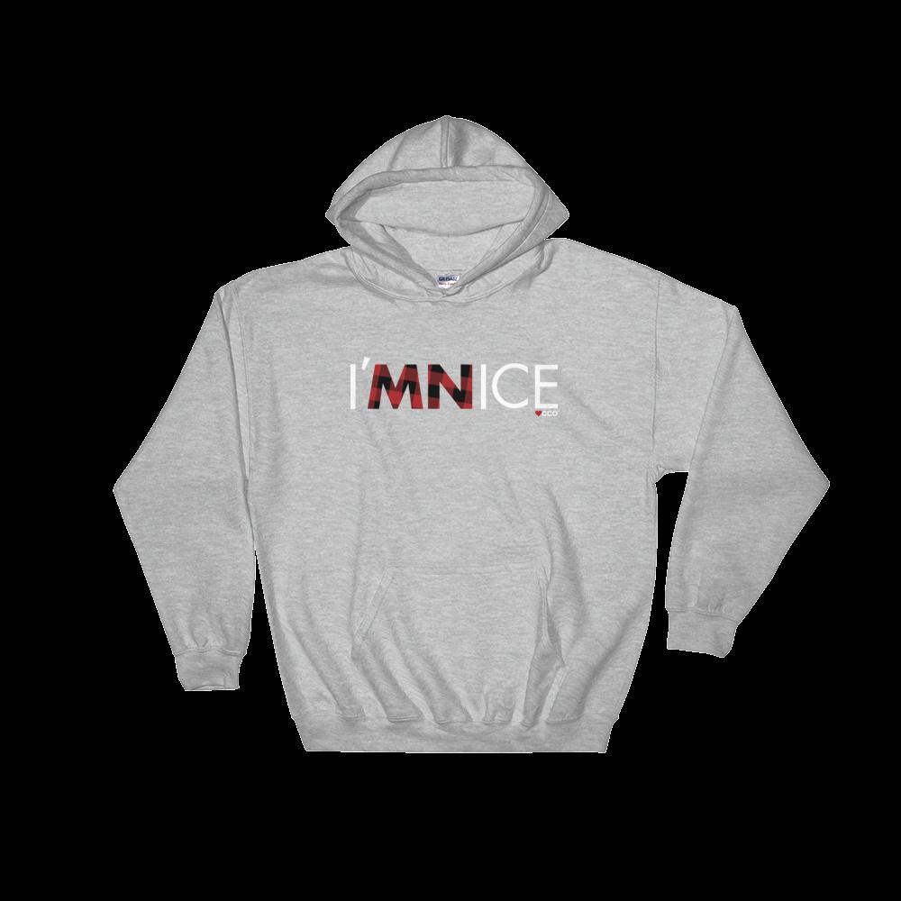Image of I'MNICE Hooded Sweatshirt