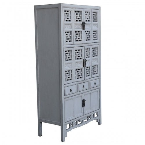 Image of Shanghai White Tall Cabinet